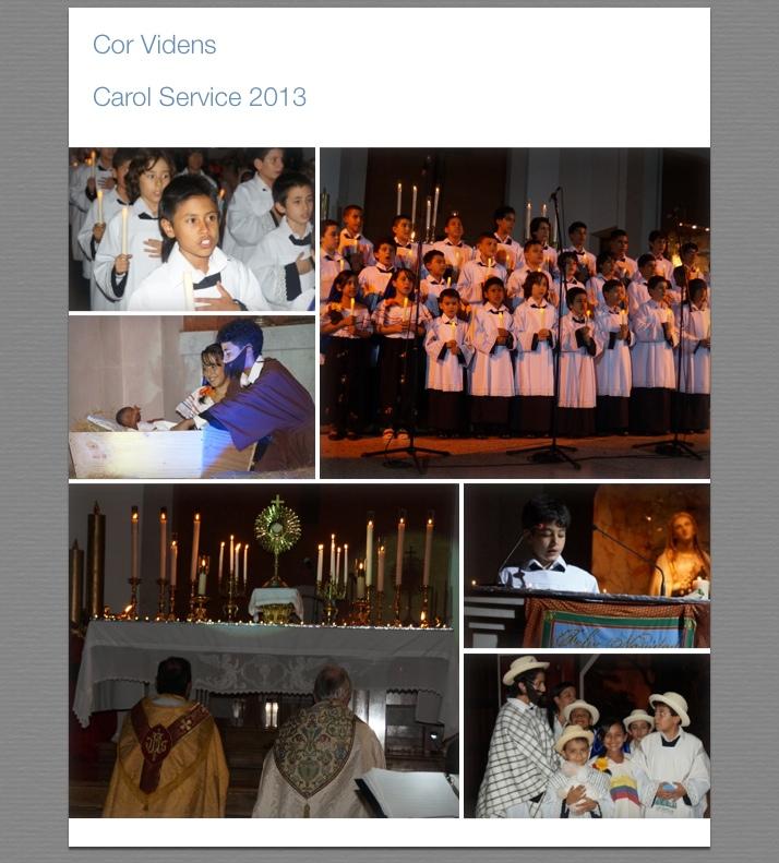 Photos from Carol Service
