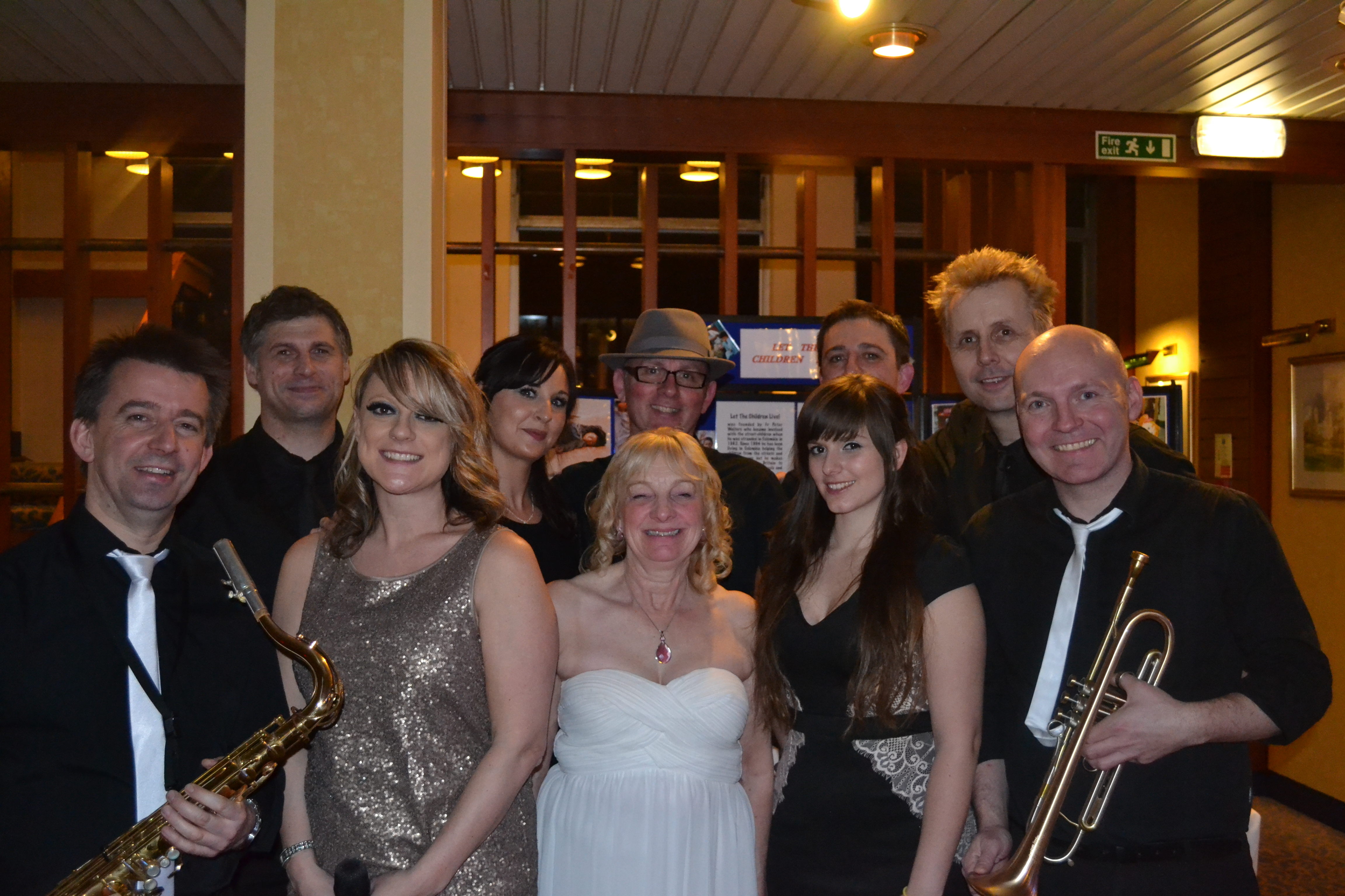 Charity Night Scratch the Cat Band with Val Thorne